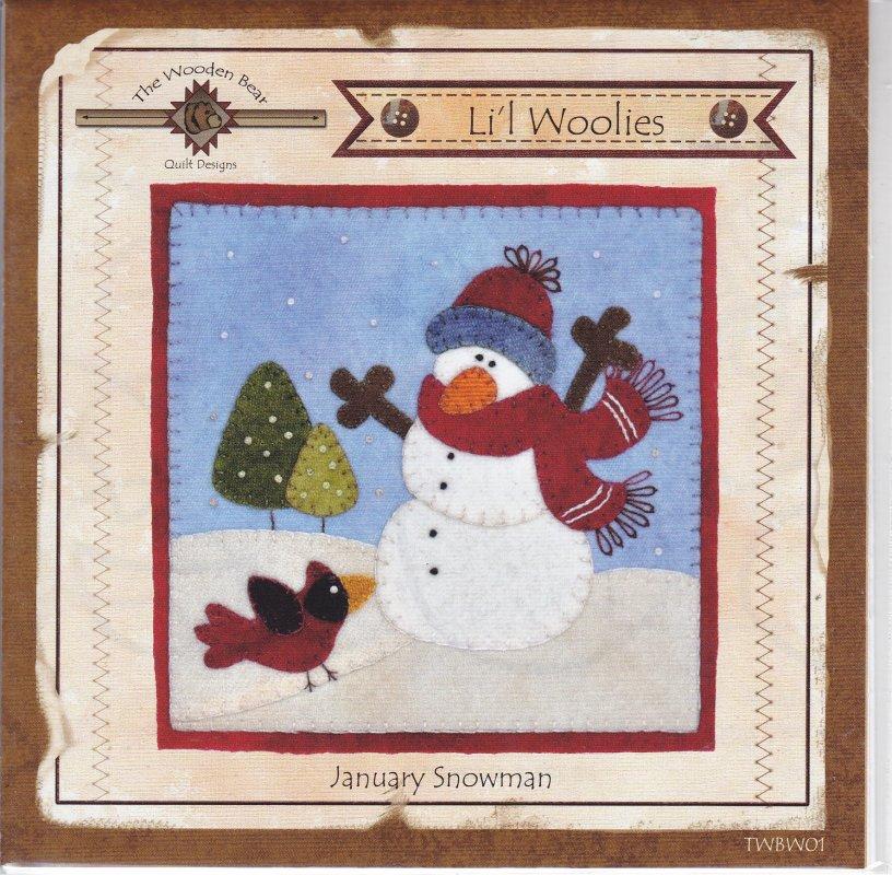 January Snowman