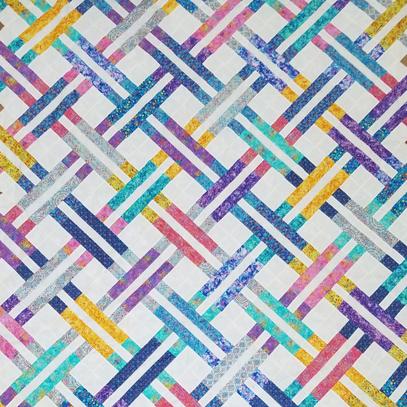 Jelly Weave Quilt Kit