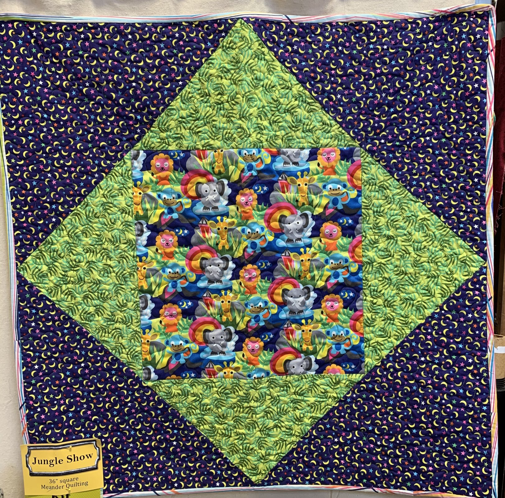 Jungle Show Off! Quilt Kit