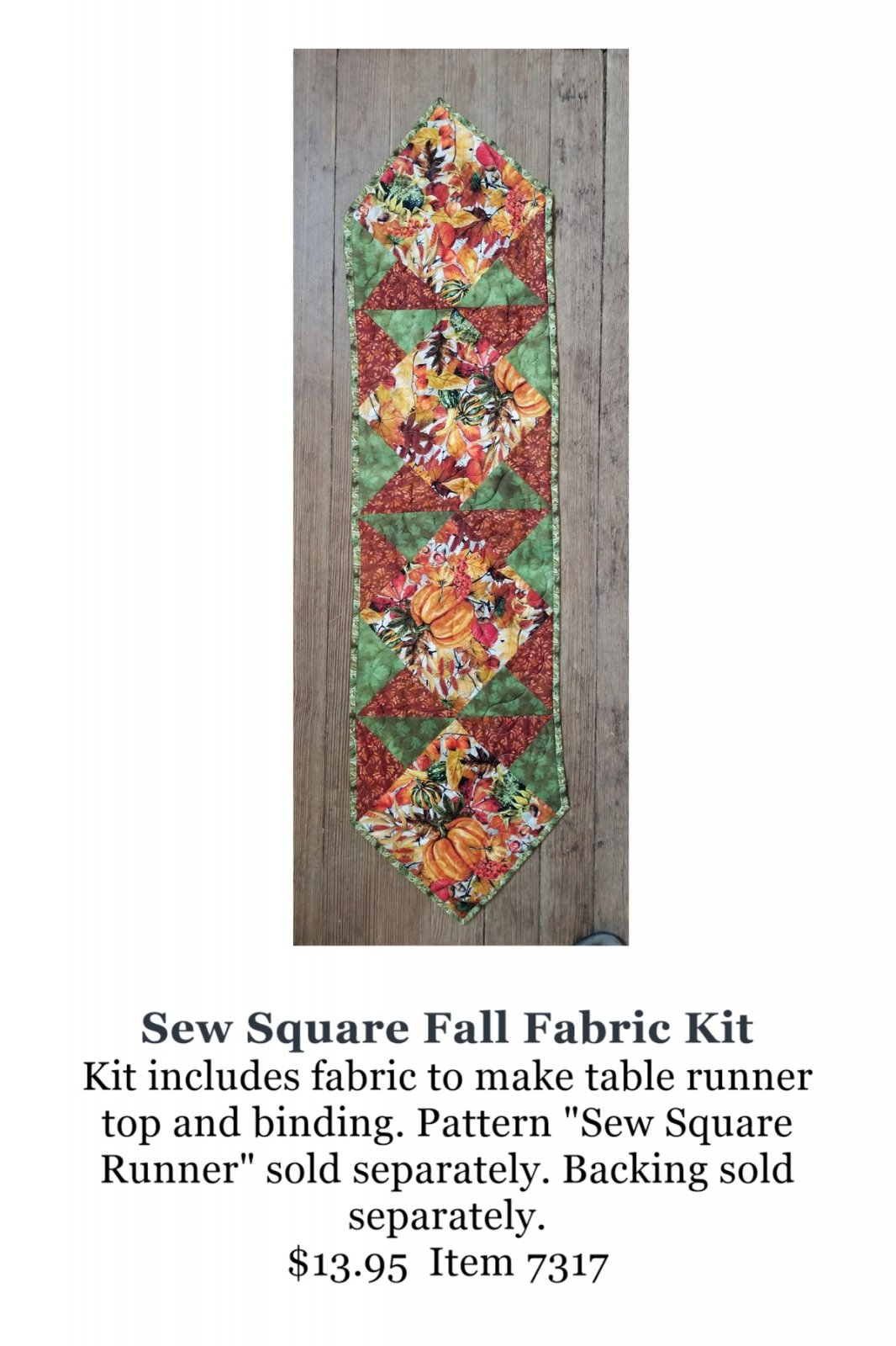 Sew Square Fall Fabric Kit
