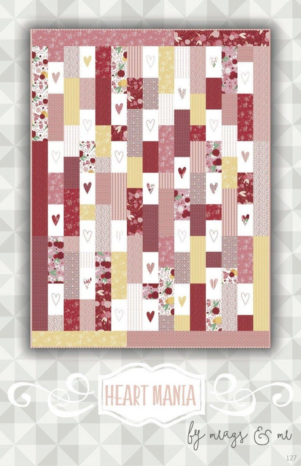 Ladybug Heart Mania Quilt Kit
