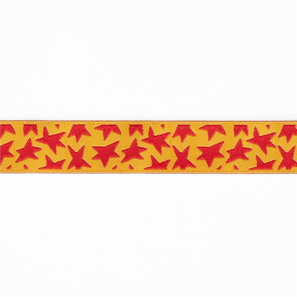 Luella Doss Ribbon red stars on gold