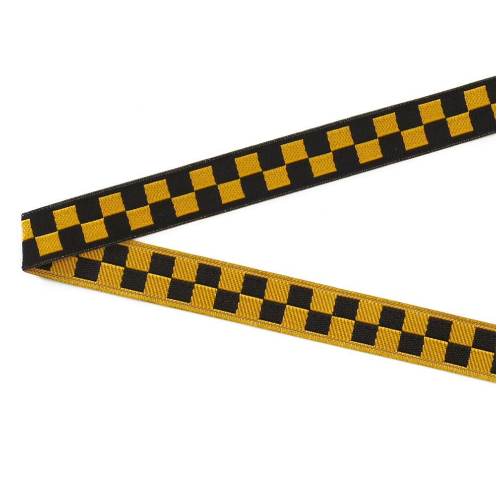 Luella Doss Ribbon gold and black check
