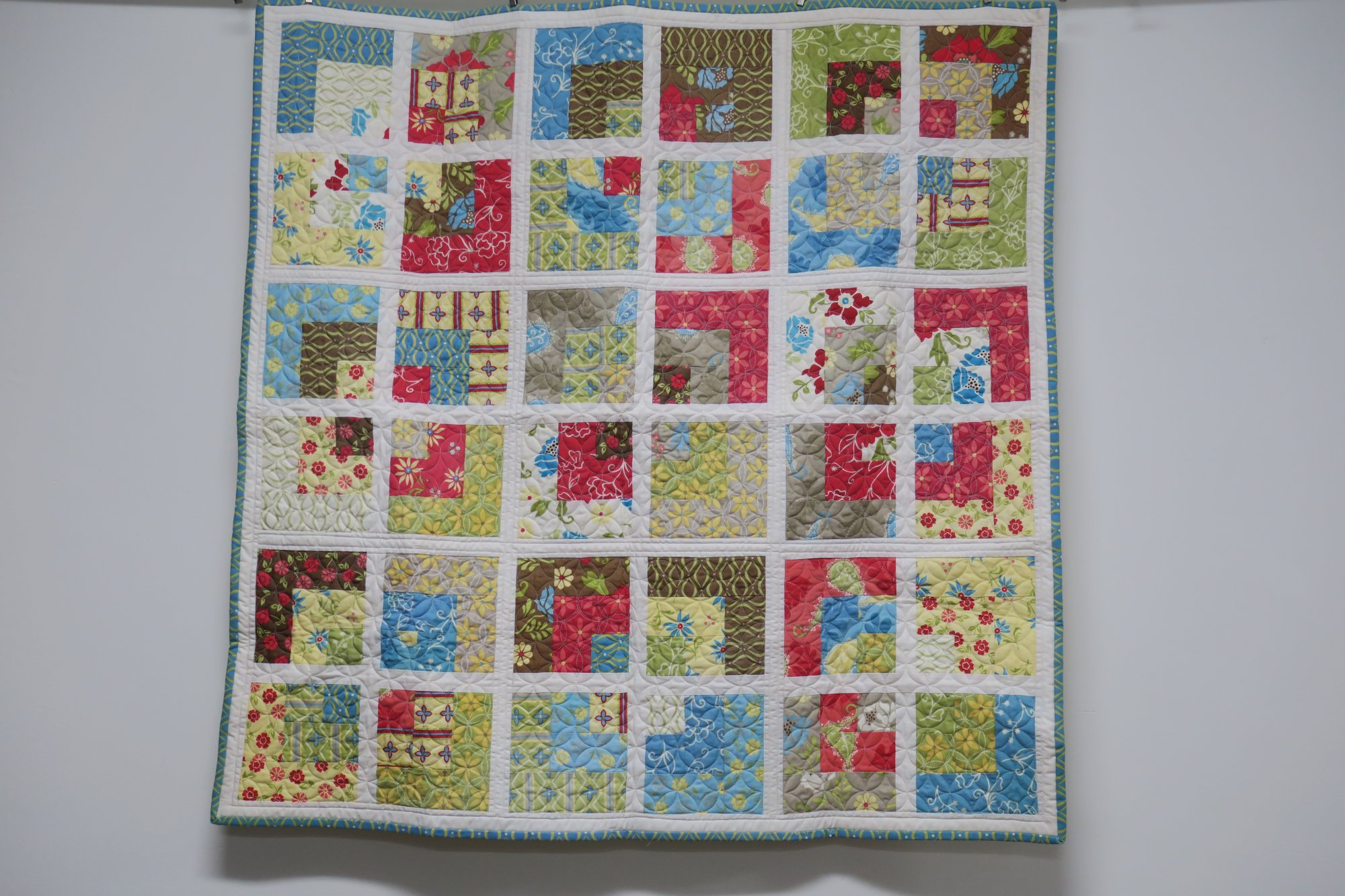 Linked Together Quilt Store Sample