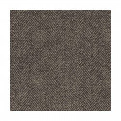 Woolies Flannel Black/Brown Herringbone