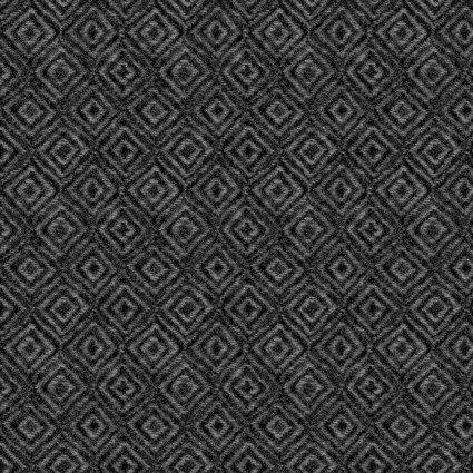 Heritage Woolies Flannel Black on Point