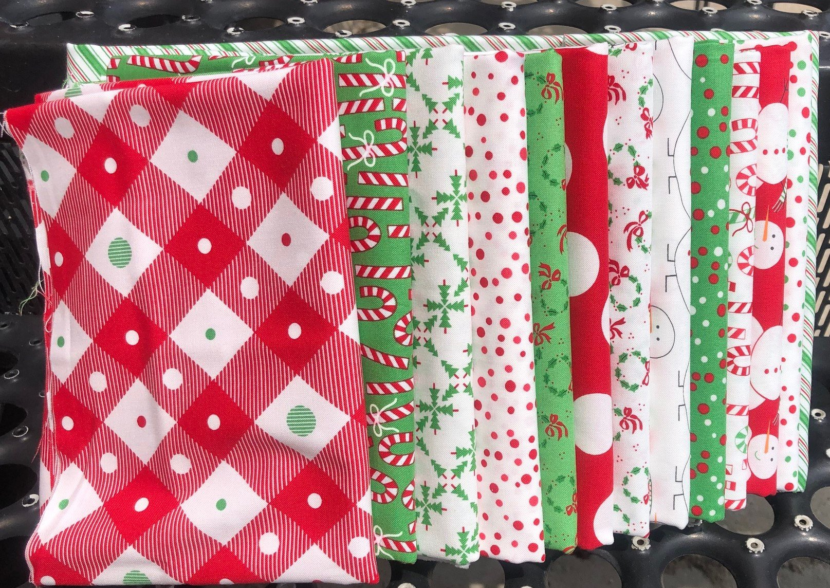 Merry Bright Stella Fabric Kit