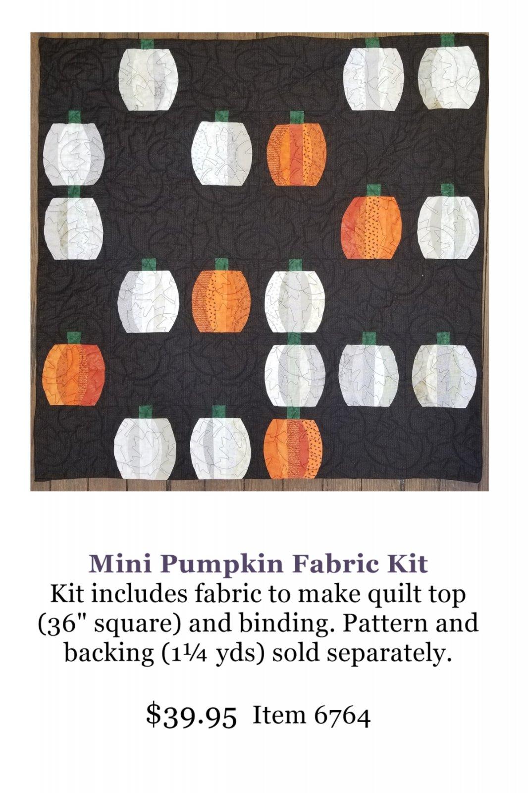 Mini Pumpkin Fabric Kit