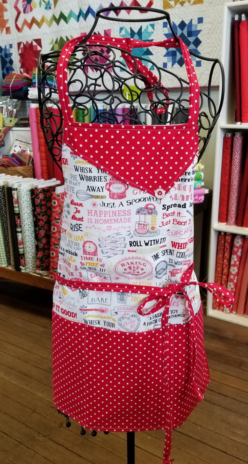 Mom and Me Apron Fabric Kit