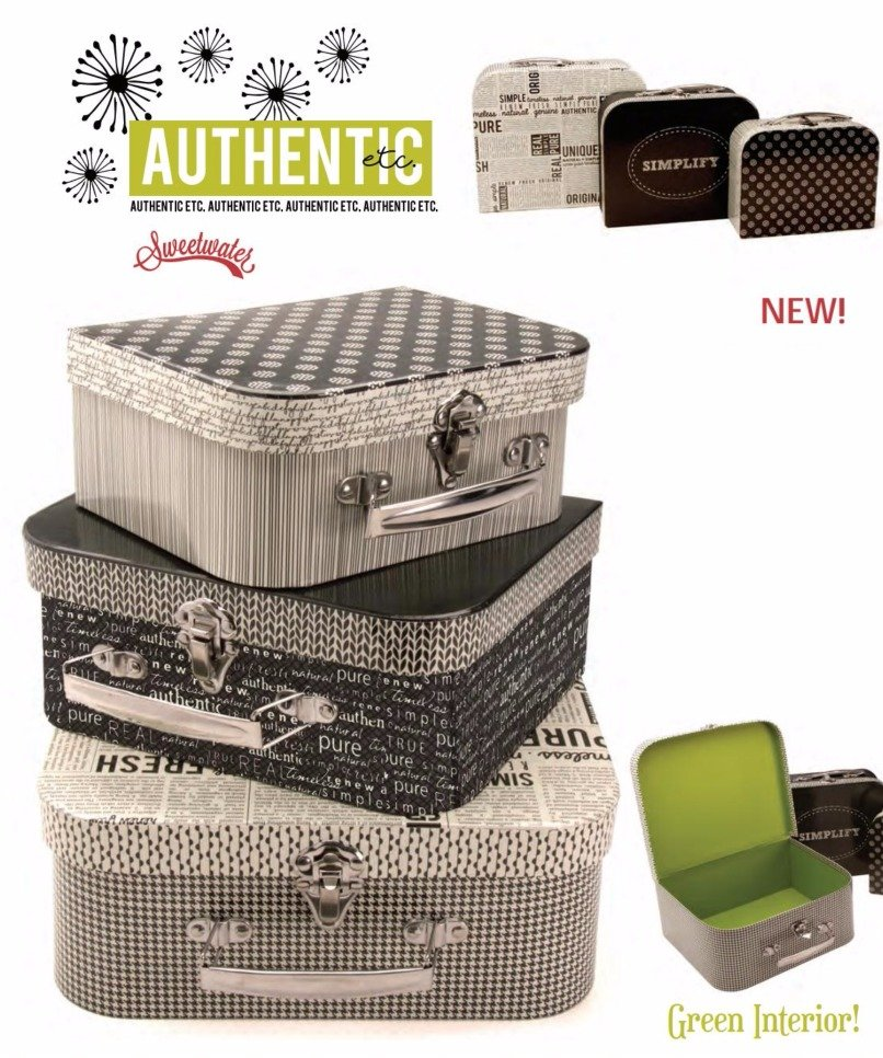 Sweetwater Sew On The Go Suitcases (Set of 3)