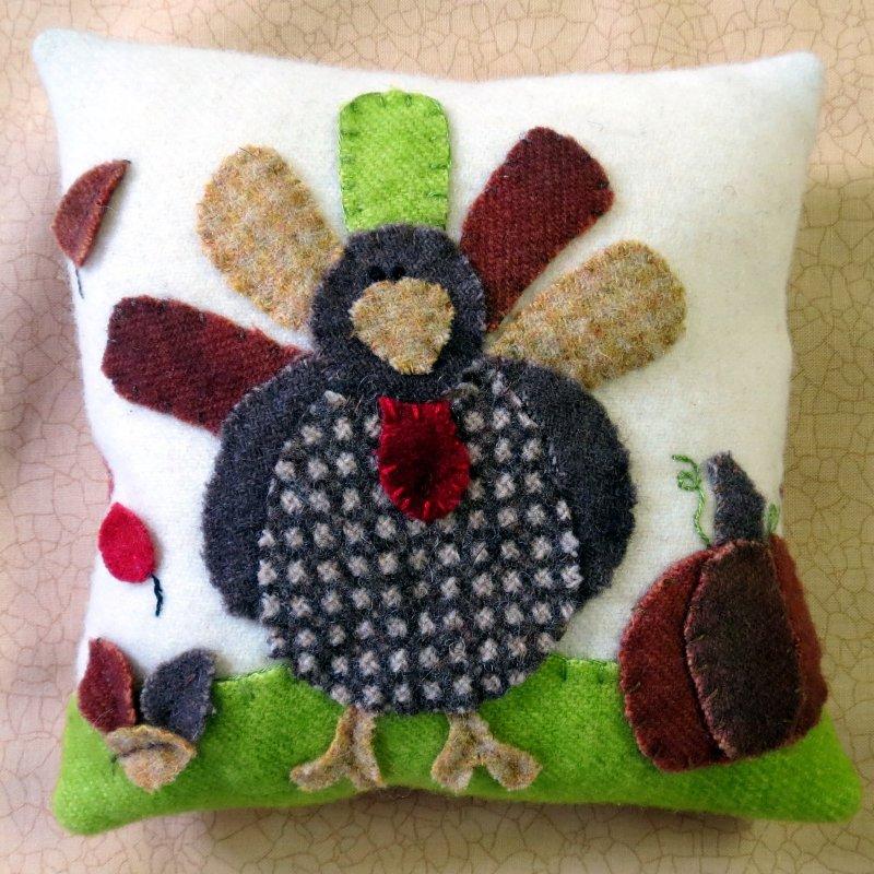November Turkey Woolie Fabric Kit