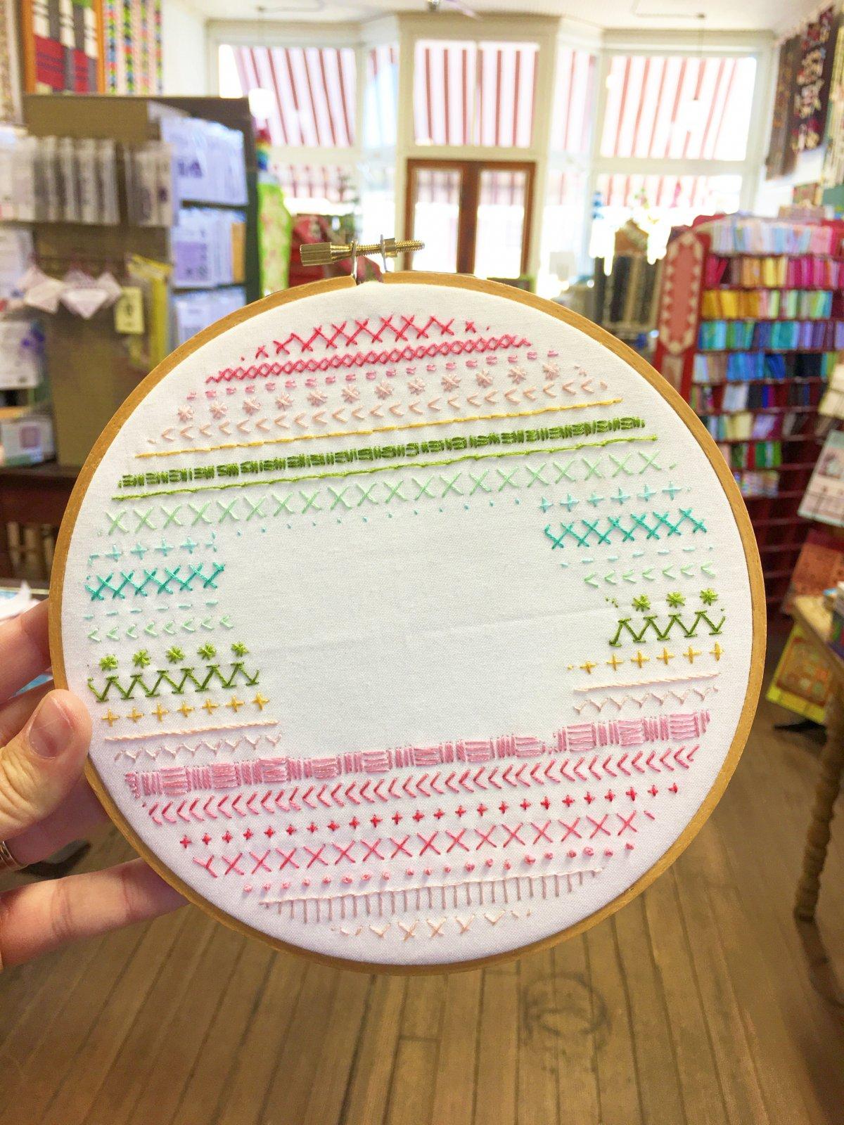 Iowa Embroidery (Pre-printed)