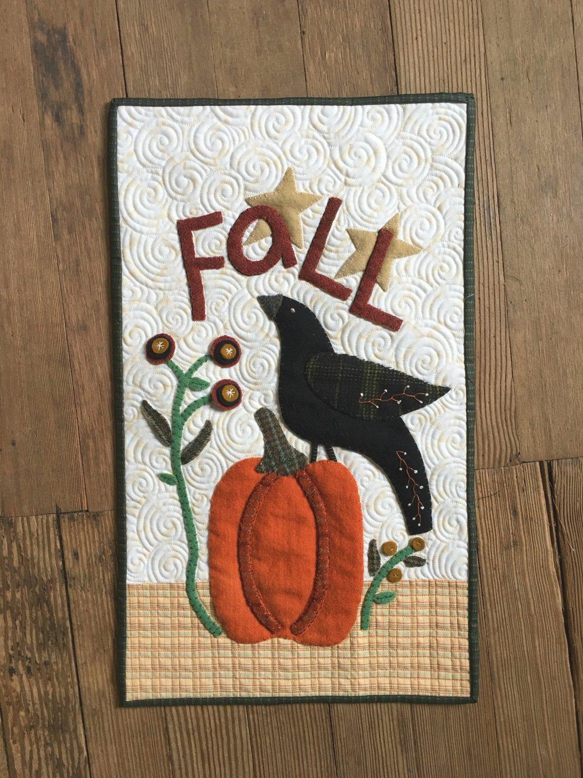 Fall Crow & Pumpkin Kit
