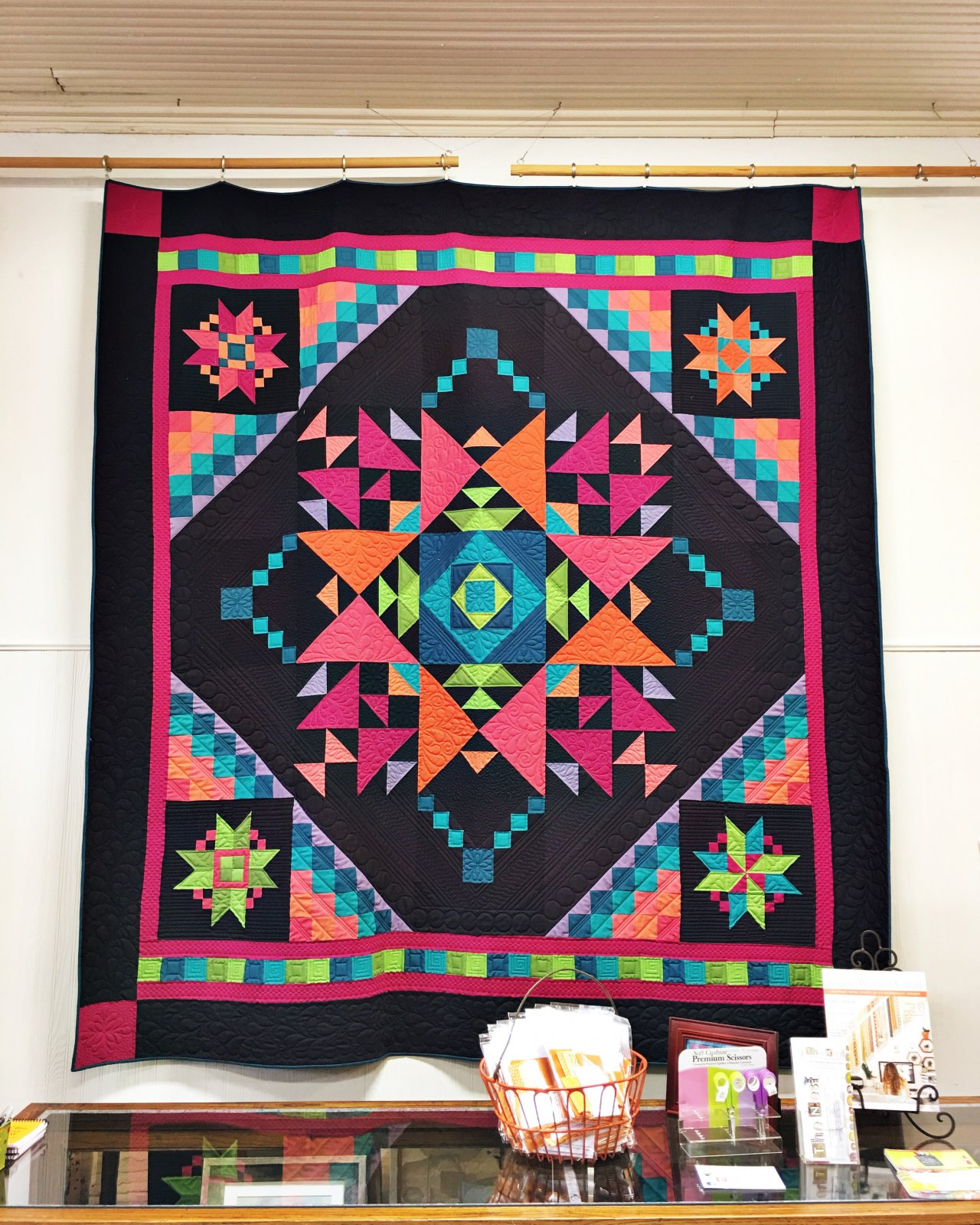 Amish with A Twist 3 Quilt Kit