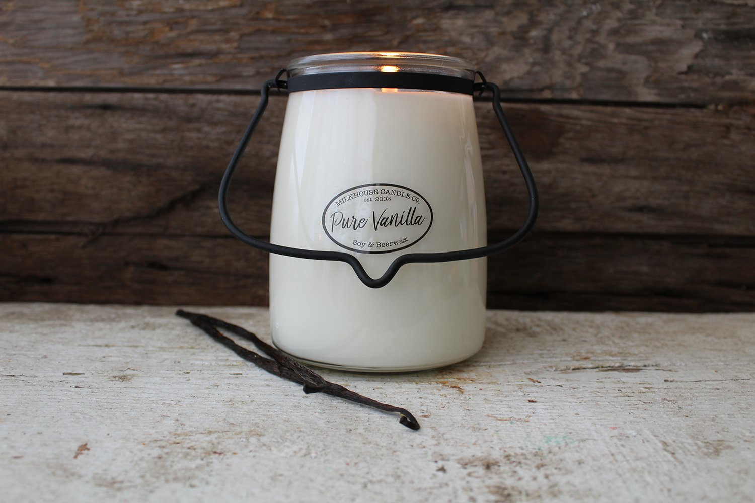 22oz Butter Jar Candle - Pure Vanilla