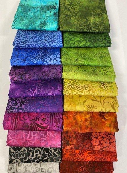 Rainbow of Jewels Fat Quarter Bundle (20)