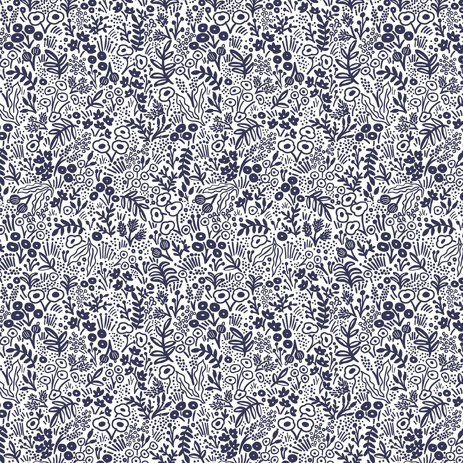 Rifle Paper Co. Basics Tapestry Lace Navy Fabric