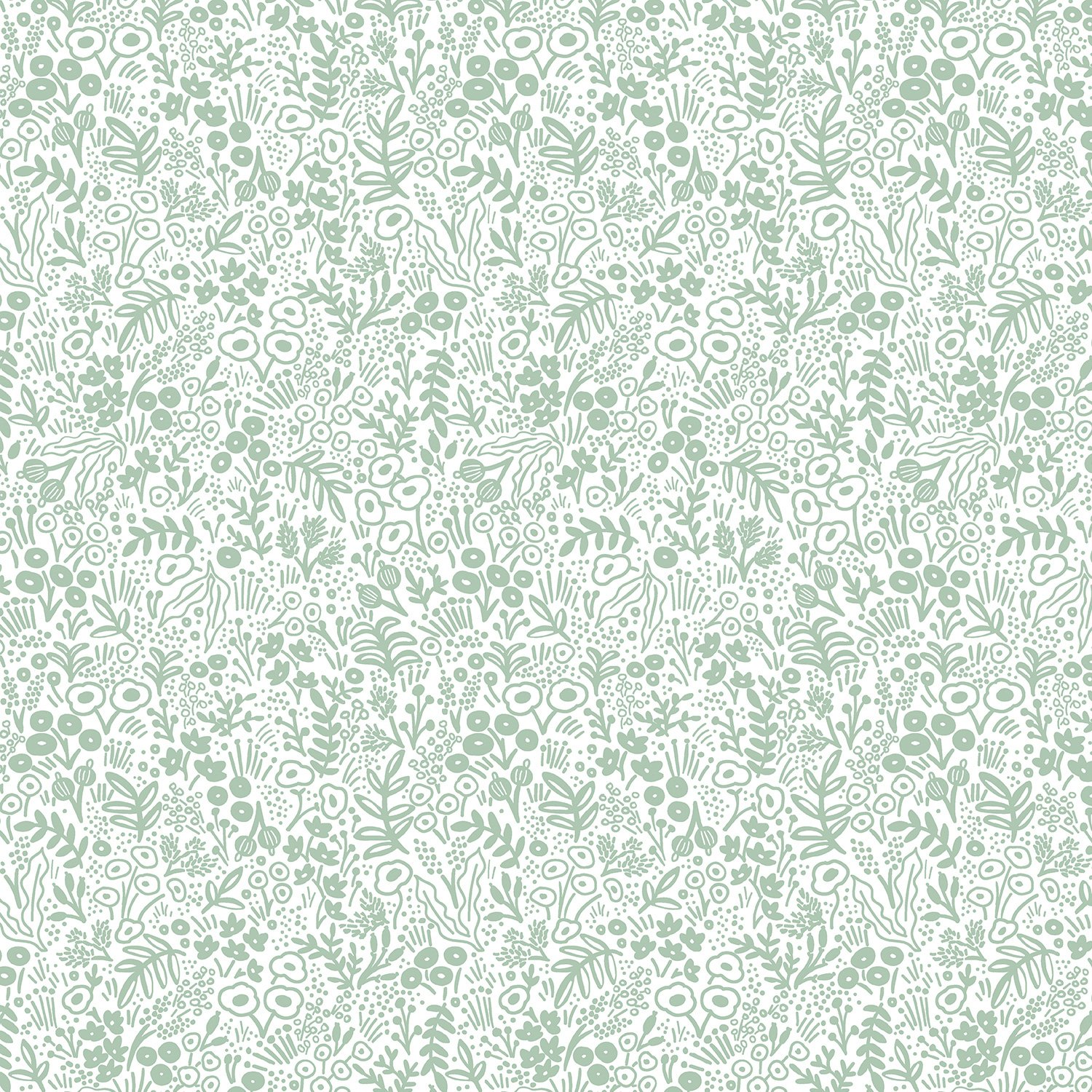 Rifle Paper Co. Basics Tapestry Lace Sage Fabric