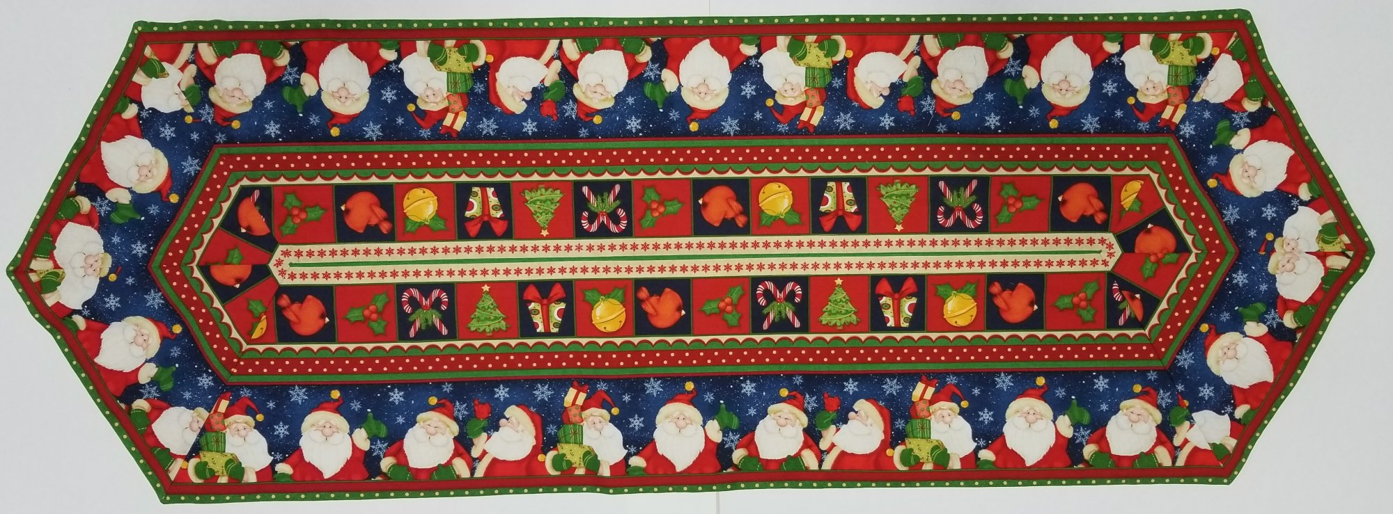 Easy Striped Santa Table Runner KIt