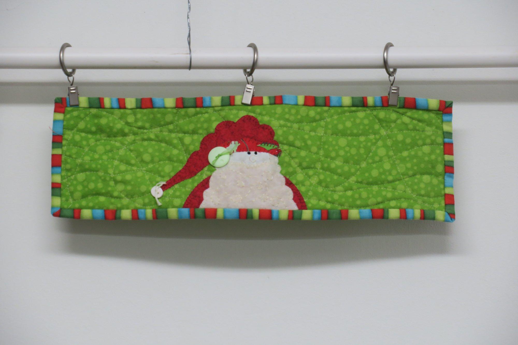 Santa Jar Wrap Store Sample