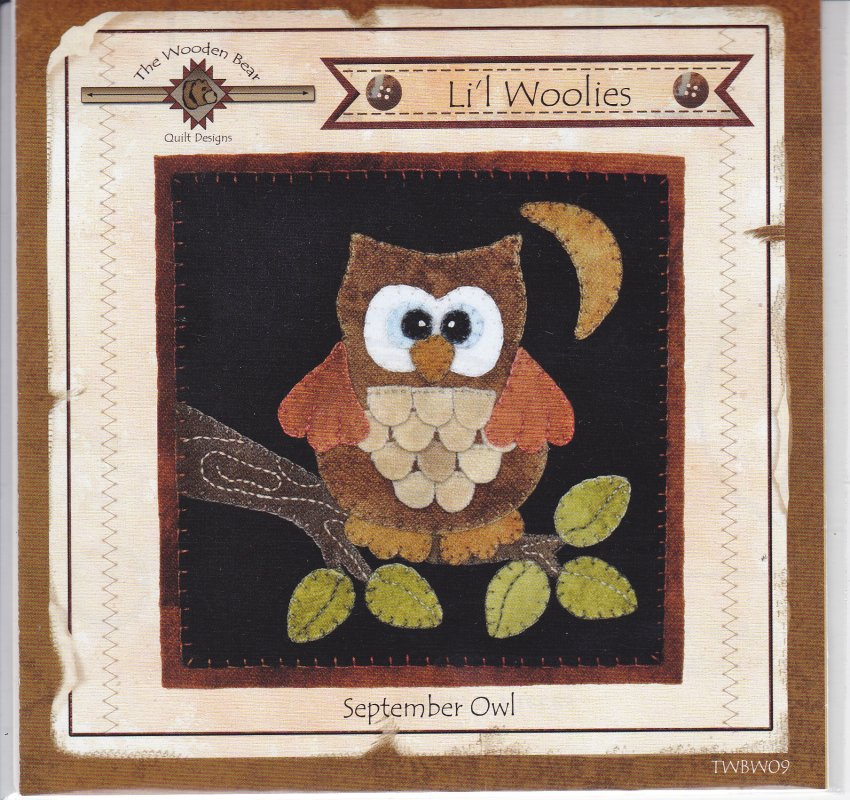 September Owl woolie