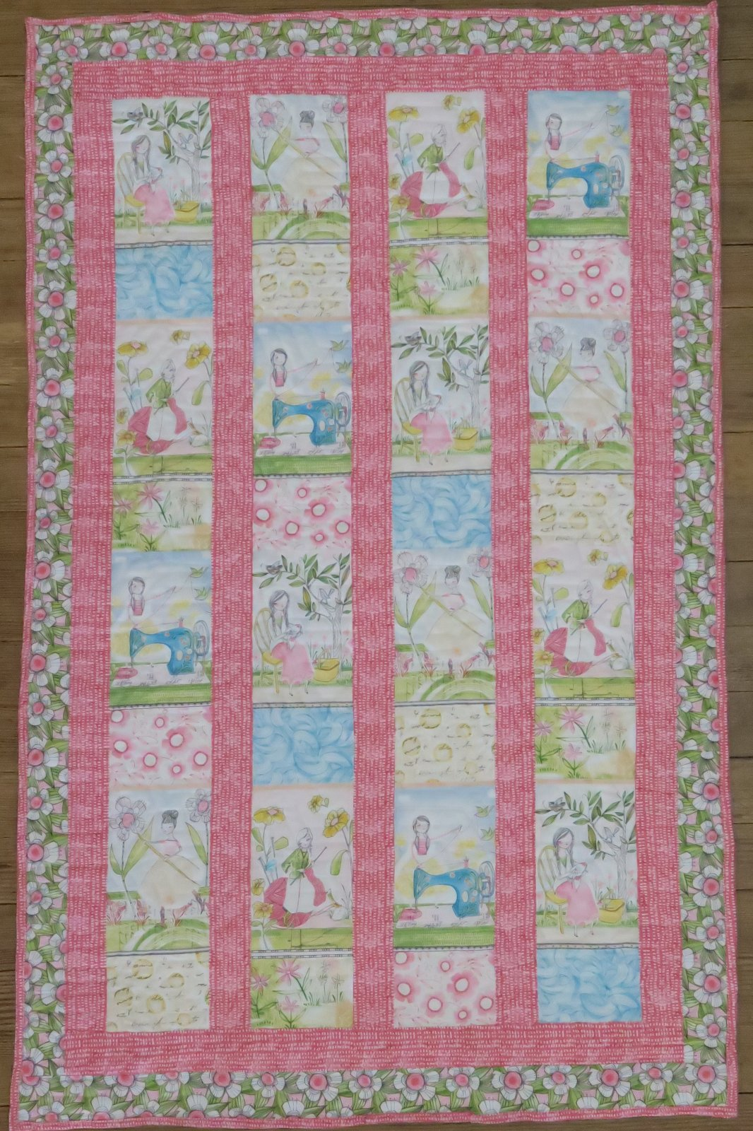 Sewing Girls Quilt Kit