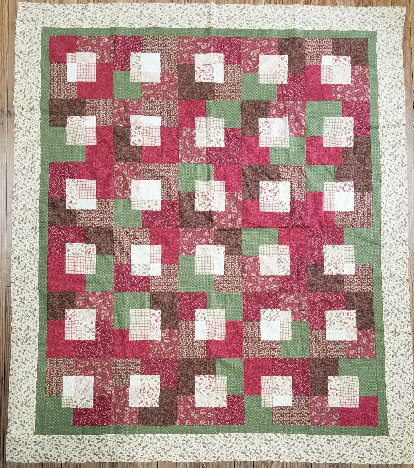 Slash A Stash Fall Quilt Fabric Kit