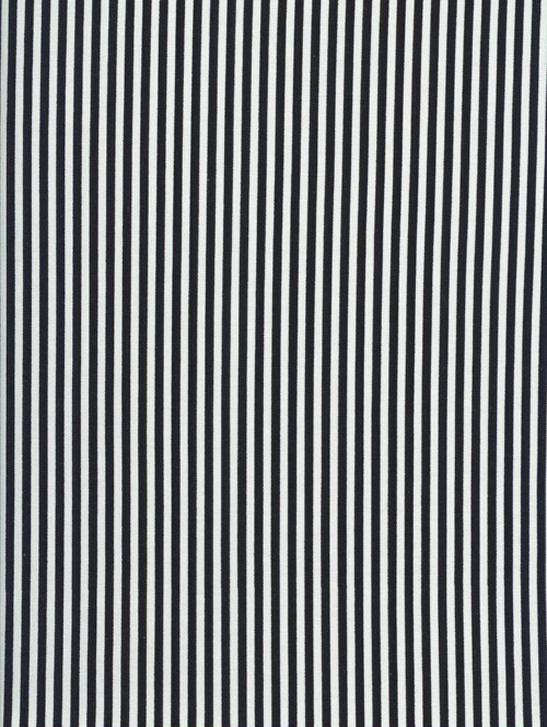 1/8th Inch Black & White Stripe