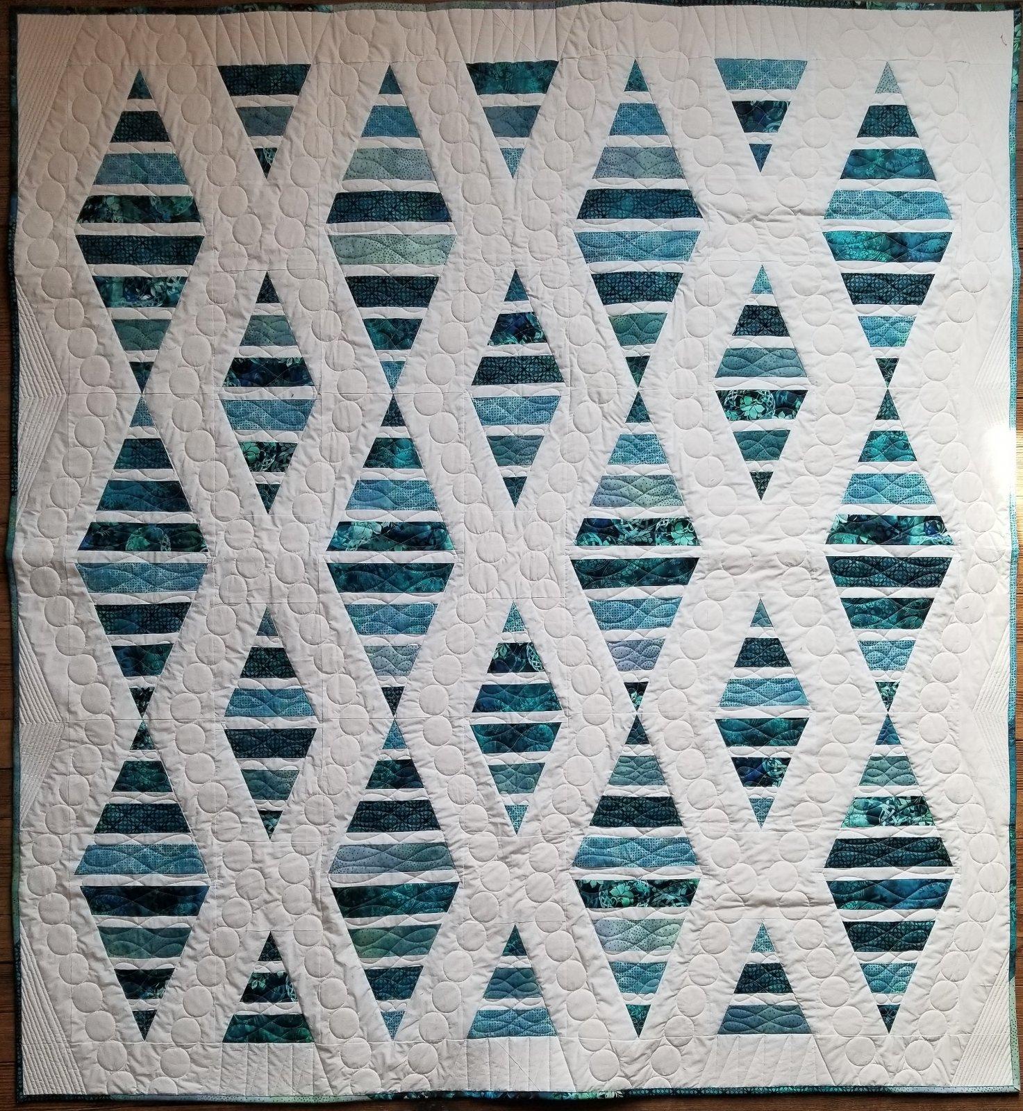 Sugar Sand Beach Blue Fabric Kit