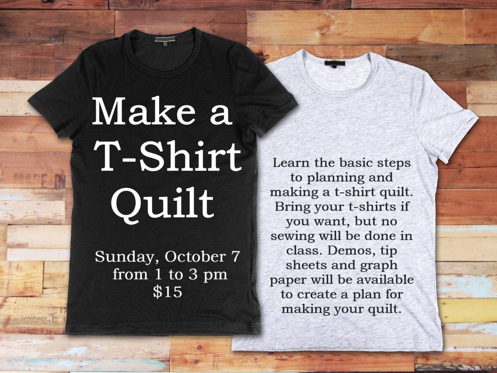 How To Make A Tshirt Quilt Without A Sewing Machine