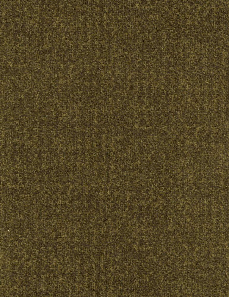 Soft Texture Flannel Olive