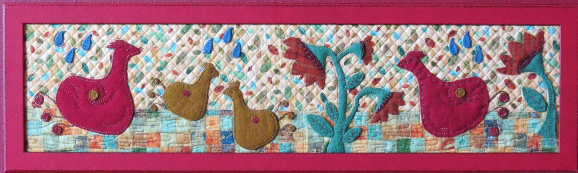 The Happy Chicken Dance Fabric Kit