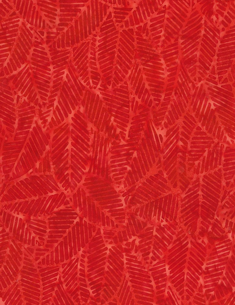 Amazon Red Tonga Batik