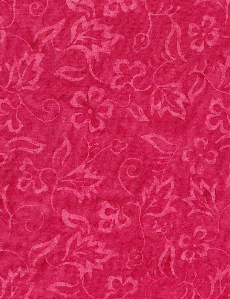 Tonga Batik Peony Delicate Vine