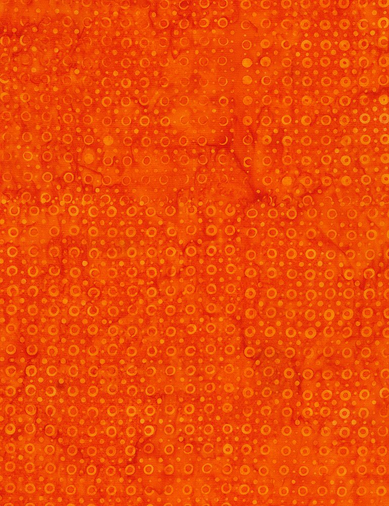 Tonga Batik Orange Bubble
