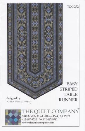 Easy Striped Table Runner