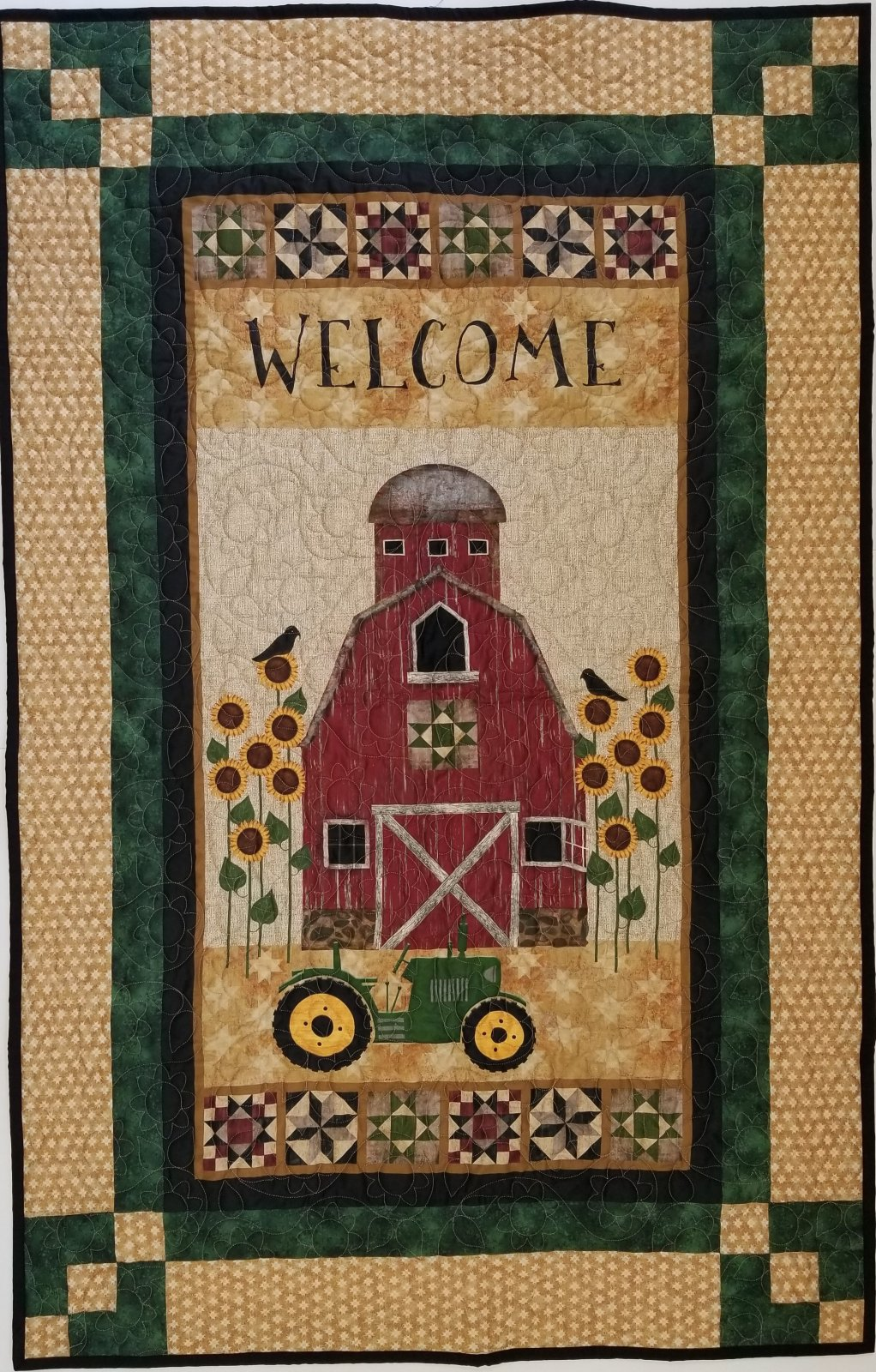 Quilt Barn Welcome Panel Magic