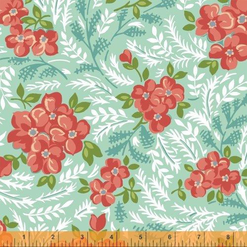 Hazel Mint Large Floral