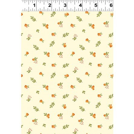 Fresh Picked  Small Yellow Floral by Sue Zipkin