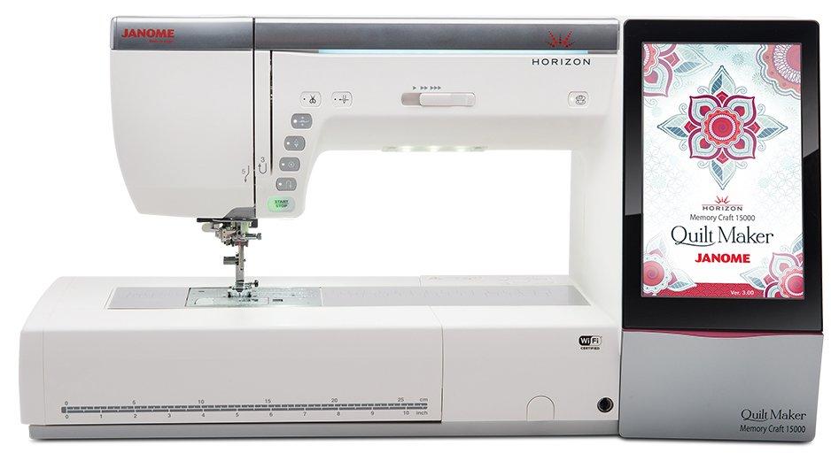 Janome MC 15000  Quilt Maker 3.0