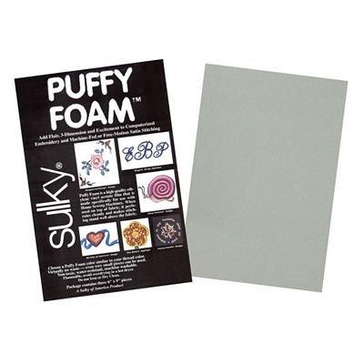 Sulky Puffy Foam (Gray, 2mm, 3/pk)