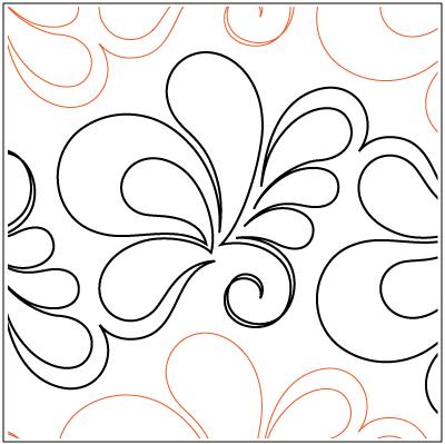 Red Velvet Paper Pantograph