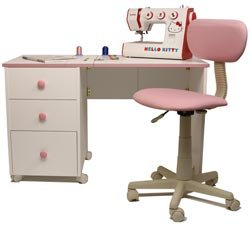 Child S Sewing Table By Horn Compact Folding That Doubles As A Desk Teach Your To Sew On Her Own Machine And