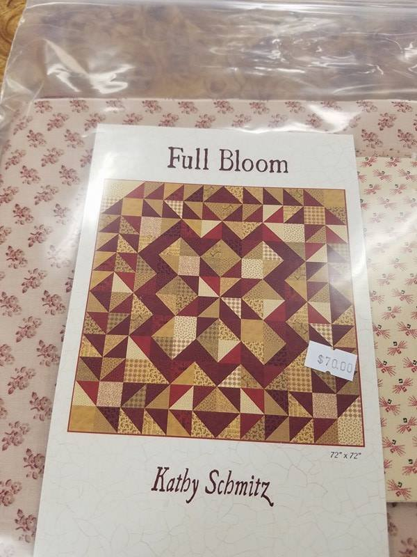 Full Bloom Precut Kit 72x72