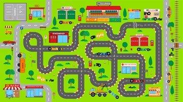 Connector Playmats 2 21471 72 Green
