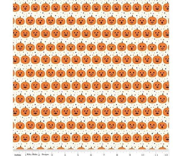 Fab-boo-lous Pumpkins Cream C8173