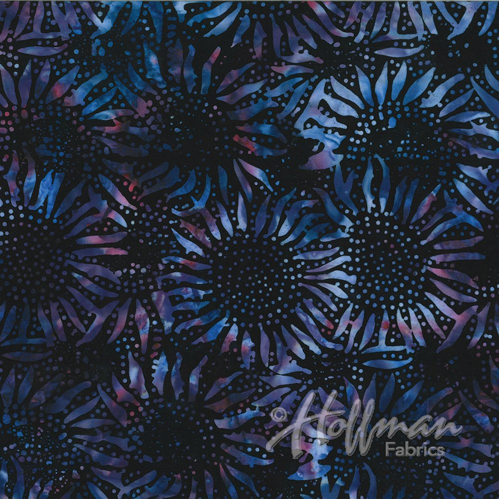 884 Black Grape Batik