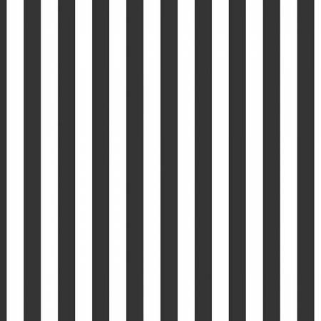 Riley Blake 1/2 inch stripe Black