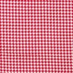 Red Tiny Houndstooth