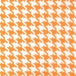eeveryday houndstooth apricot